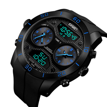 8106344e8336 skmei 1355 fashion factory jam tangan digital big dial analog digital watch