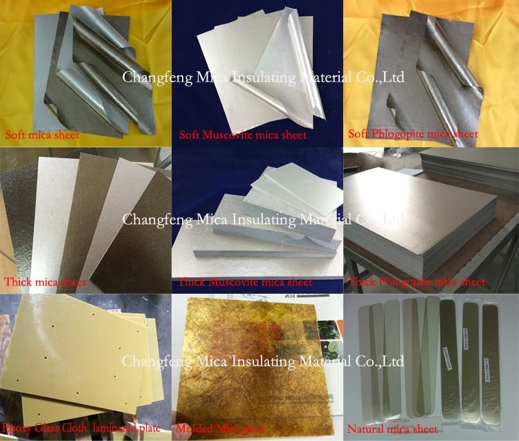 super thick Mica Sheet with CNC Machine cutting service
