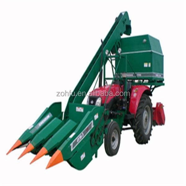 Mini Corn Harvester Corn Combine Harvester Bean Harvest Machine