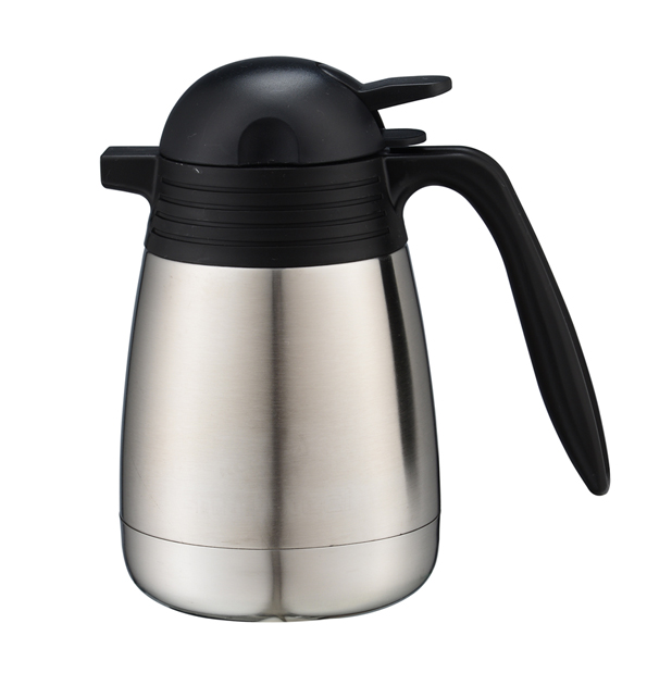 2017 new item Stainless Steel Wide Mouth Vacuum Coffee pot 0.5/1.0/1.2/2.0Liter