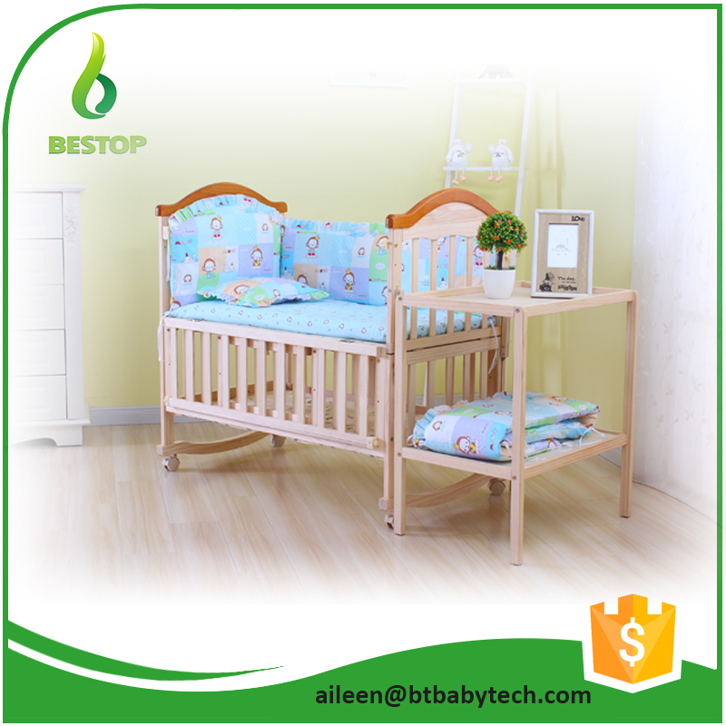 Unfinished Wooden Baby Crib, Unfinished Wooden Baby Crib Suppliers And  Manufacturers At Alibaba.com