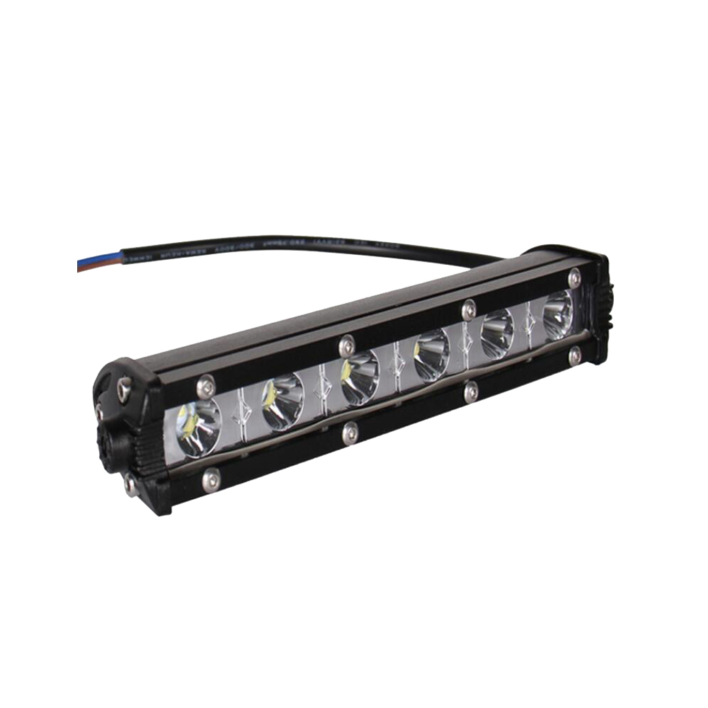 7inch 18W super slim led bar light , small led light bar for car and motorcycle headlamp
