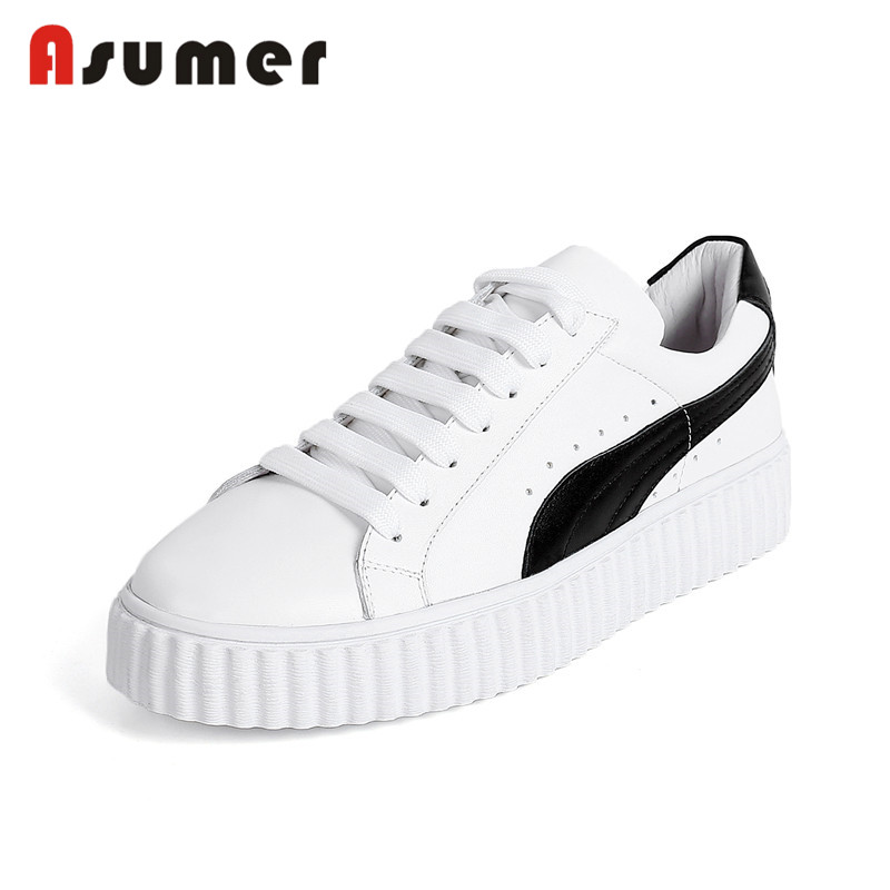 Asumer flat shoes casual new women fashion ladies Z7qnZrT
