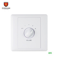 Chnlan professional pa system ABS material audio volume controller switch