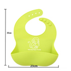 Amazon Hot Selling Factory Price Customized Logo Printed Waterproof Disposable Silicone Baby Bib