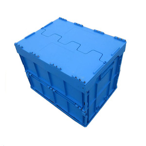 collapsible plastic box recycled plastic sheet foldable crate