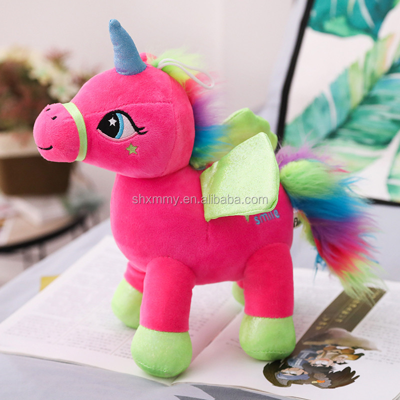 China Factory Wholesale Stuffed Animals Unicorn Plush Toy Unicornio