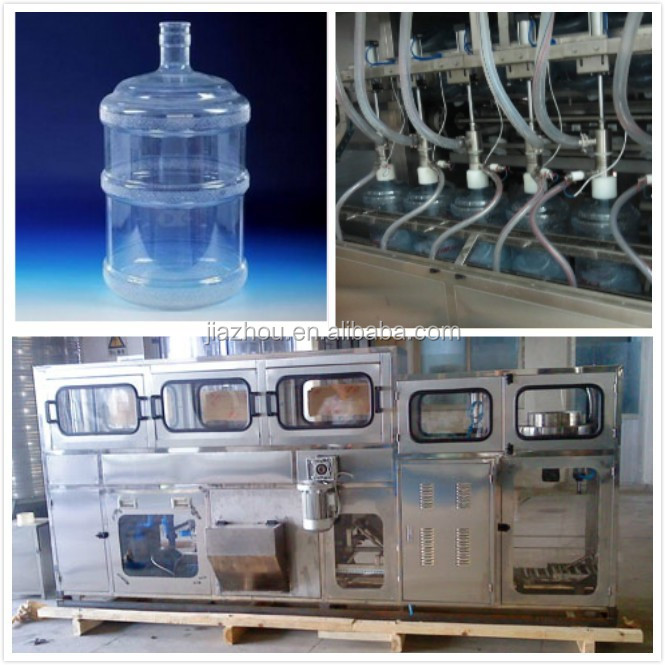 5 gallon water bottle filling machine/bottle filling and sealing machine