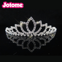 Rhinestone alloy bow BRIDAL HAIR BAND WEDDING Headbands TIARA Headband