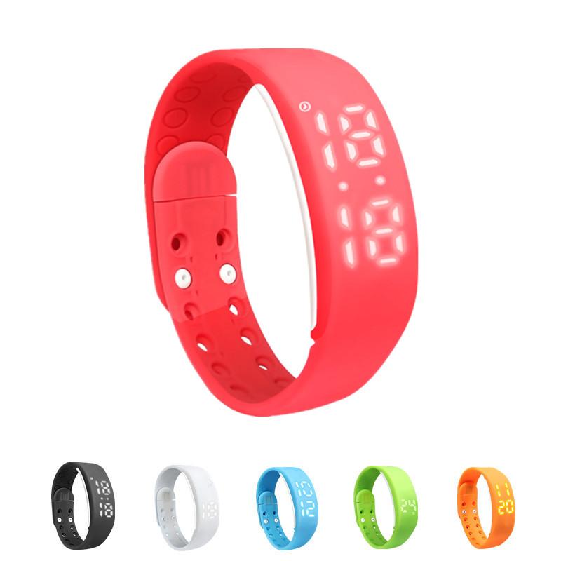 New Fashion W2 LED  Fitness  Sport USB WristWatch Waterproof IP68 Smartband