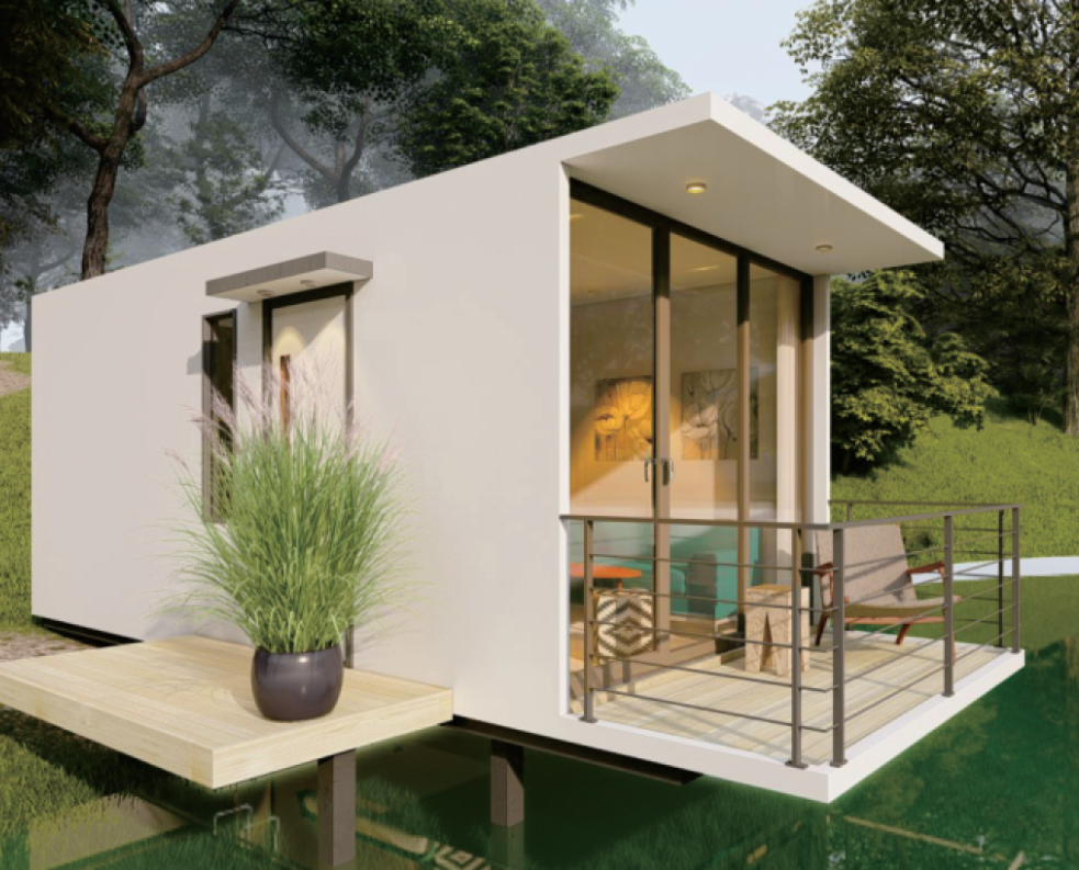 One-stop Service China small  Modern Tiny Prefab house prefabricated house Small prefab house