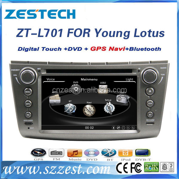 spare parts car dvd gps for Lotus L3 yong / Proton Gen-2 / Persona car dvd radio gps player touch screen bluetooth radio GPS