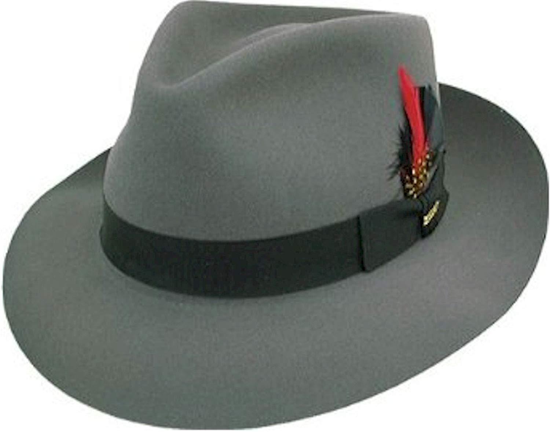 Get Quotations · Stetson Men s Downs Royal Quality Fur Felt Hat 1df561ee7666