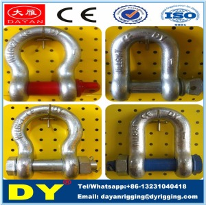 Shackle-Rigging Hardware Shackle Manufacturer