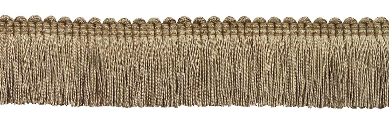 K9 DecoPro 5 Yard Value Pack of Black 1 1//4 Basic Trim/Brush Fringe Style# 0150SB Color: Black 4.5 M // 15 Ft