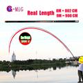 MiG Real Open Length 8m 9m Long Segment Carbon Fiber Hand Pole 8m 9m 10m 11m