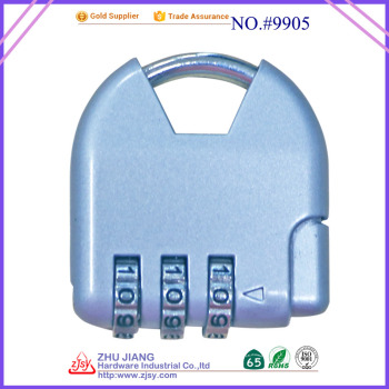 3 digital combination padlock hot sale