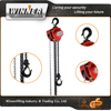 Drop forged steel 3t single speed electric chain hoist