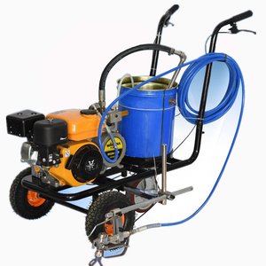 hand push thermoplastic road marking machine/ road paint machine