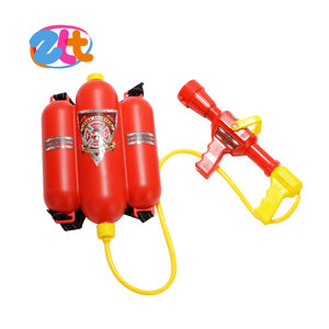 Wholesale plastic guns custom big backpack toy water gun for adults