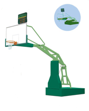 Portable basketball system basketball training basketball equipment