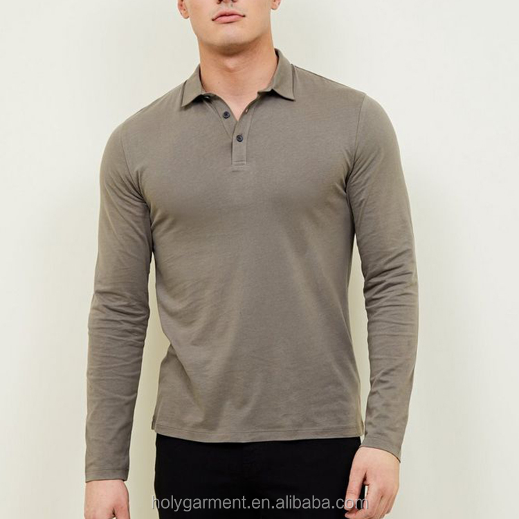 online shopping blue pique muscle fit men polo shirt