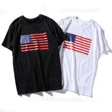 custom high quality cotton men t shirt t-shirts ,bulk wholesale american flag oversized t shirts in China
