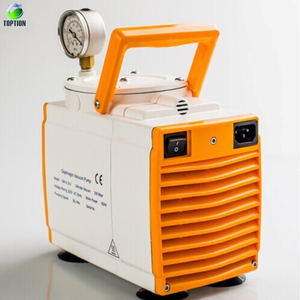 GM-1.0A, 60L/min Chemical-resistant Double Head Lab Oilless Diaphragm Metering Vacuum Pump/Oil Free Vacuum Pump