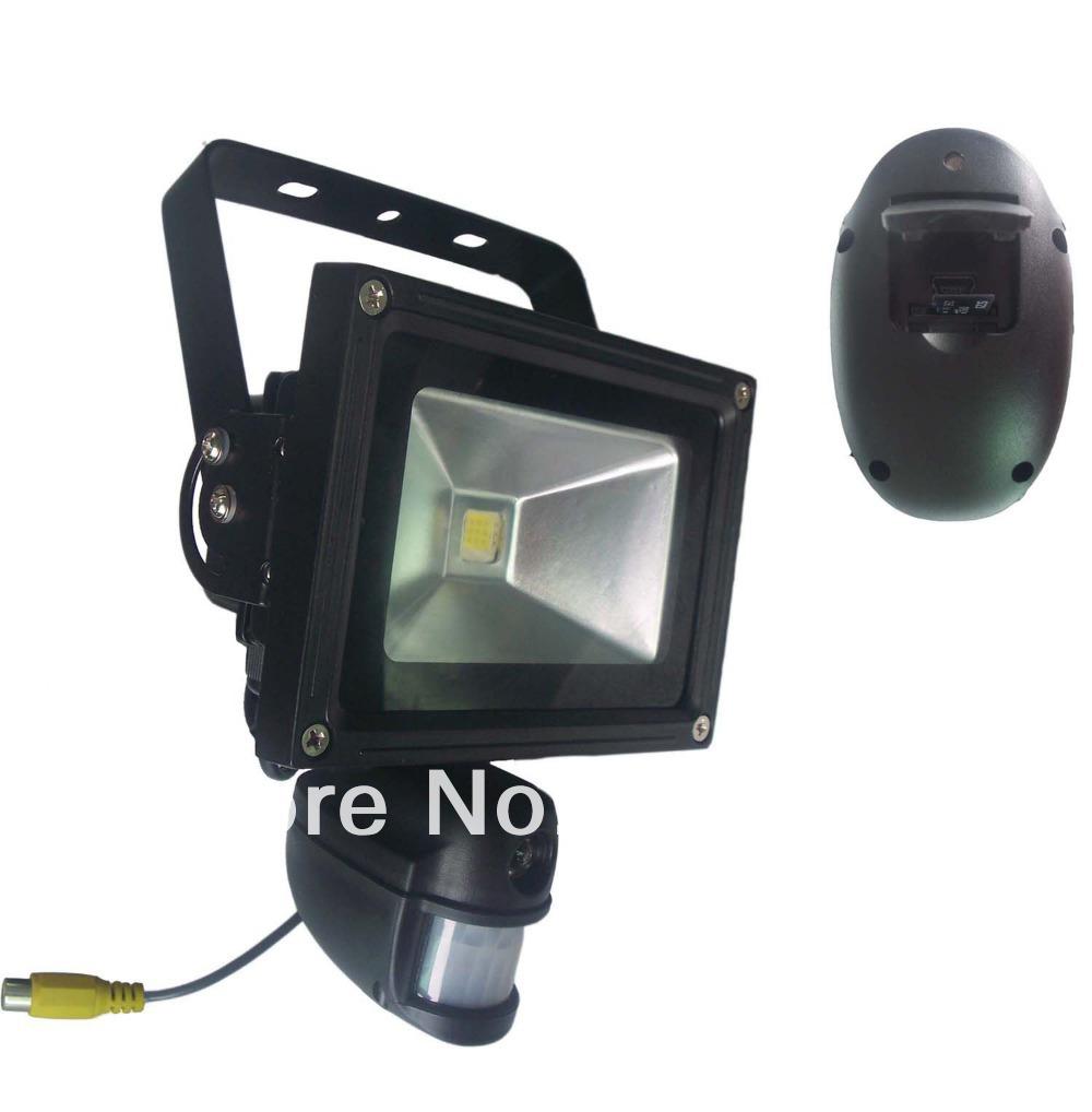 720P HD High Power PIR Camera Recorder with WIFI Module PIR Floodlight Motion Sensor Drop Shipping