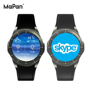 MaPan 2019 NEW arrival Quad Core Android Smart Watch support 3G Sim Card  WiFi GPS MW10