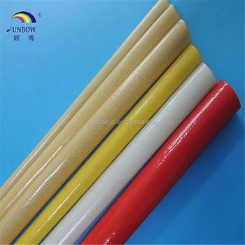 High Temperature Fiber Glass Insulation Pipe Coated Polyurethane Pu - Buy  Polyurethane Pu Tube,Polyurethane Coated Fabric,En 253 Standard  Polyurethane
