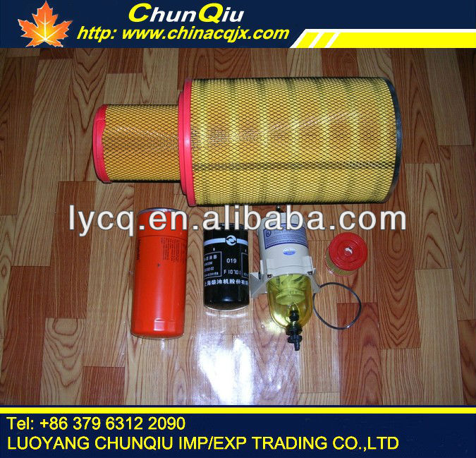 original good C6121 shangchai engine spare parts entire vehicle hydraulic filter for loader YTO ZL50F