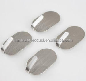 stainless steel adhesive door hook and stainless steel adhesive towel hooks