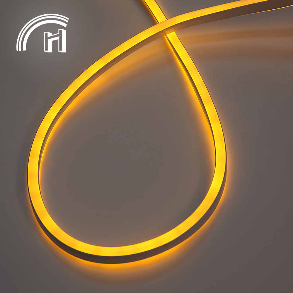 Luar waterproof neon fleksibel led light strip