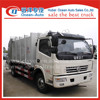 Dongfeng hyadraulic operation 8cbm compactor trash truck