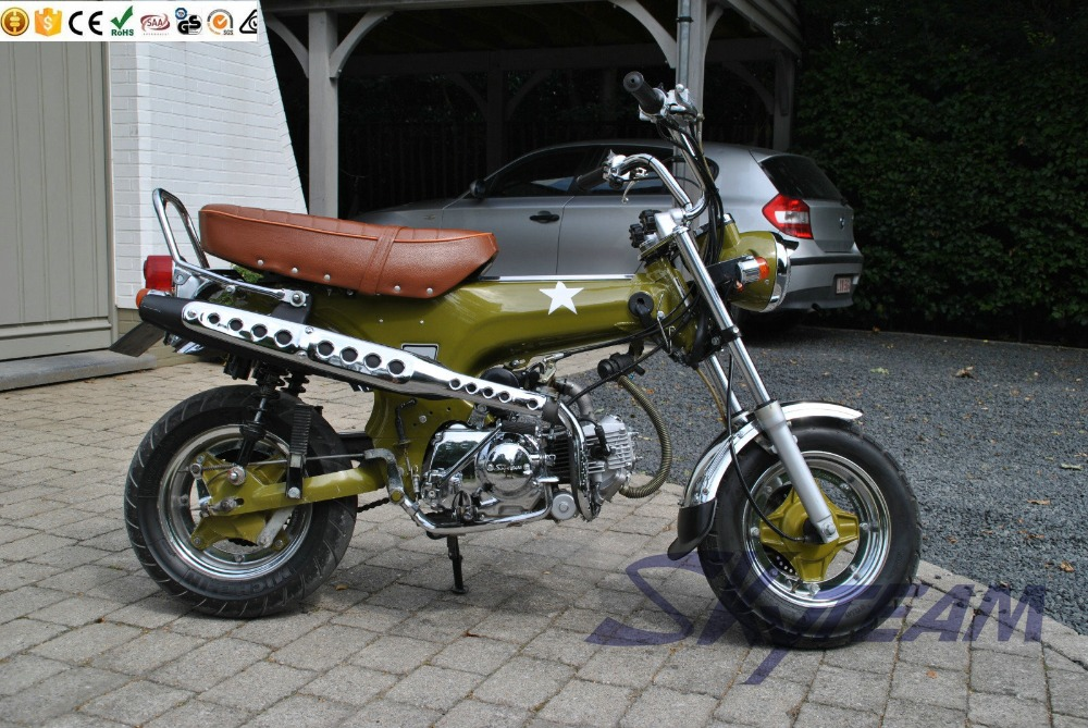 skyteam 50cc en 125cc 4 takt dax skymax aap motorfiets. Black Bedroom Furniture Sets. Home Design Ideas