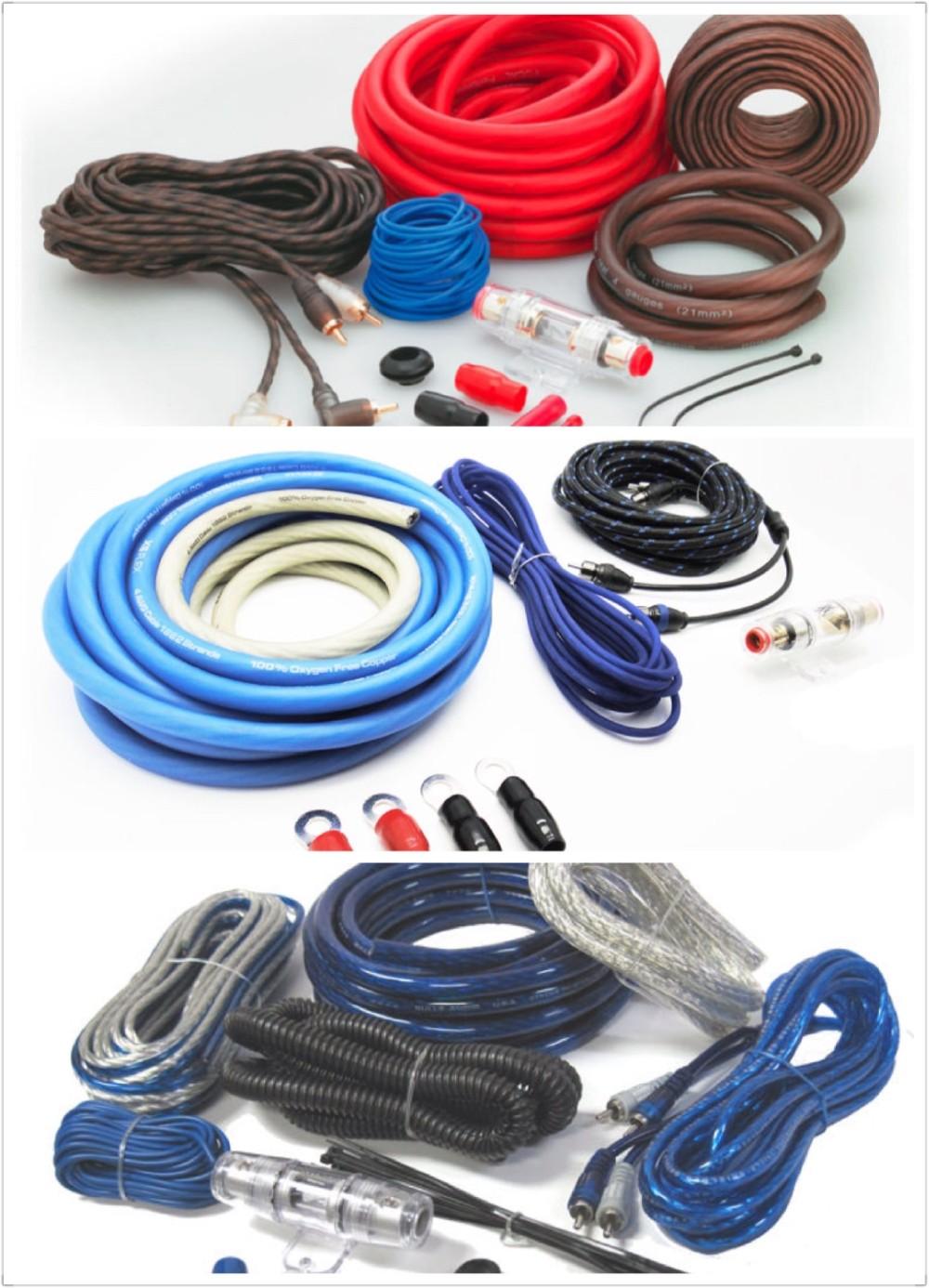 China High Performance 4 Gauge Car Audio Lifier Wiring Kit Photos Best Speaker Wire Amplifier Rh Alibaba Com