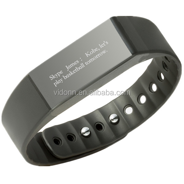 2016 NEW best health smartband activity tracking Wearable devices sleep monitor for Android IOS