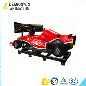 Interactive 3 Screens F1 VR racing game simulator for sale