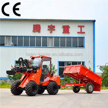 Customized Bobcat Connecting Style Mini Tractors Dy1150 Articulated Tractor  - Buy Mini Bobcat Tractor,Bobcat Style Tractor,Multifunction Mini Tractor