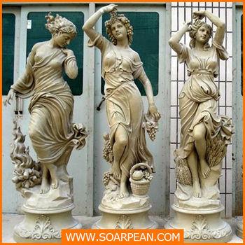 Shop Custom Decorative Fiberglass Greek Myths Characters Statue - Buy  Artificial Girl Characters Statue,Fiberglass Greek Myths Characters