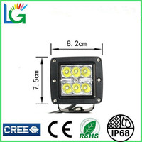 3'' Truck JEEP Motorcycle OFF Road LED Driving Lights 18W CREE LED Work Light IP68 Waterproof