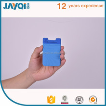 Good price silicone mobile card pocket best selling