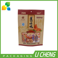 Food grade brown paper bag packaging for baked chicken