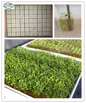 Rockwool As Aquaponics Growing Medium Soil For Hydroponic/vertical Tower  Garden