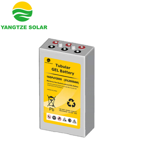 Solar and wind energy storage opzv battery 2v 2000ah