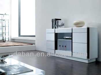 High Gloss Color Combinations Modular Kitchen Cabinet