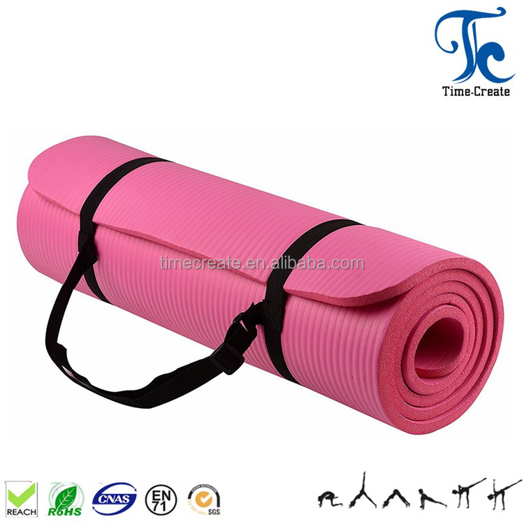 great deals on fashion promotion release info on Extra Thick 8mm/10mm/12mm/15mm Comfortable Nbr Yoga Mat With Carry Strap -  Buy Nbr Yoga Mat,Yoga Mats Best,Best Place To Buy Yoga Mat Product on ...