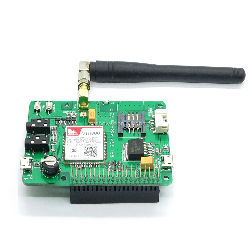 Smart bes Rasp Pi SIM800 Module Expansion Board Support GSM/GPRS