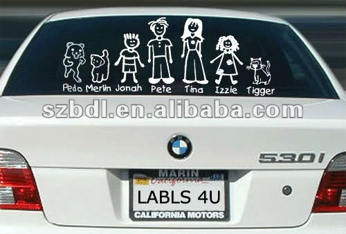 Funny Car Badges Funny Car Badges Suppliers And Manufacturers At - Unique family car decals
